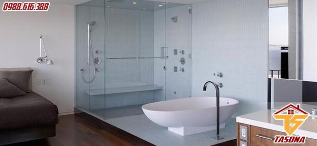 Không gian nhà tắm phong cách Châu Á