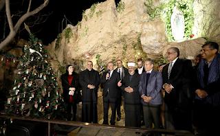 وزير الشباب يضيء شجرة الوحدة الوطنية التاسعة في ناعور