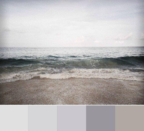Cloudy Beach Color Palette