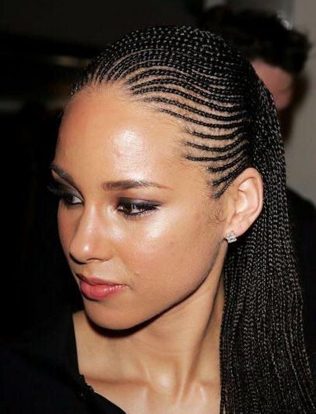 alicia keys hairstyles - star