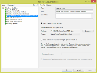 Windows Updates during SCCM OSD from Replica WSUS Servers 7