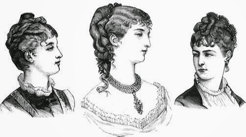 Stupendous Solent Horror Story Victorian Hairstyles 1860S 1890S Short Hairstyles For Black Women Fulllsitofus