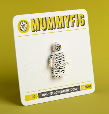 Invisible Creature Mummyfig LEGO Mini Figure