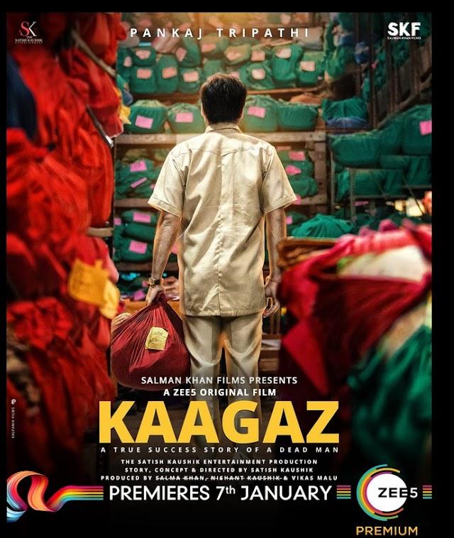 Kaagaz 2021 x264 720p ZEE5 Hindi GOPI SAHI