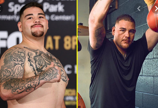 Andy Ruiz Jr Shows Off Dramatic Body Transformation And Warns Anthony Joshua He Will Be 'Lighter, Faster And More Powerful' (Photo)