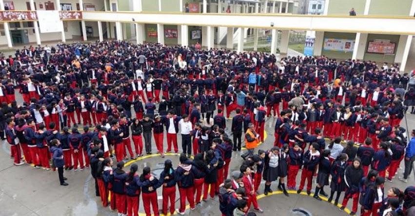 MINEDU: Solo en cinco colegios siguen suspendidas las clases por terremoto - www.minedu.gob.pe