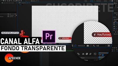 exportar en canal alfa after effects