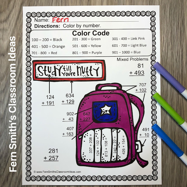 Click Here to Download this Use Place Value to Add Three Pack Bundle for Your Classroom Today!