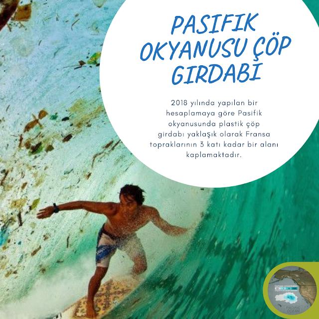 Pasifik Okyanusu'nda Plastik Çöp Girdabı
