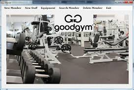 Gym Management system Python project ideas for final year students