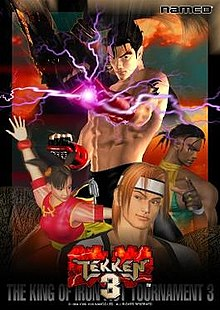 Download Tekken 3 Android game 40 Mb