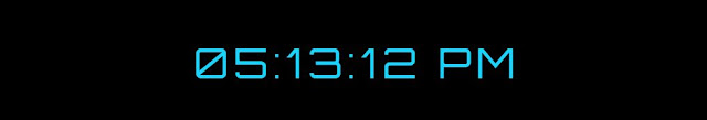 Display Date and Time Clock In JavaScript & CSS