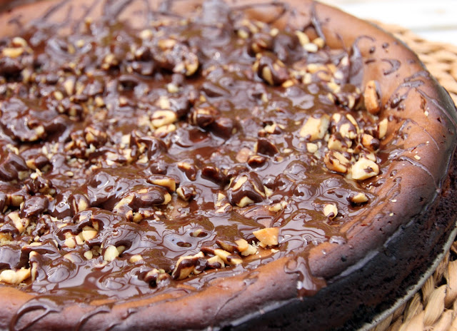 Reese Peanut Butter Chocolate Greek Yoghurt Cheesecake recipe