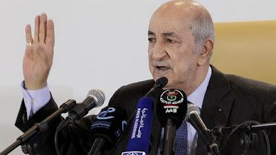 الرئيس الجزائري عبد المجيد تبون، كوفيد-19، فيروس كورونا، الجامع الاكبر في الجزائر، حربوشة نيوز