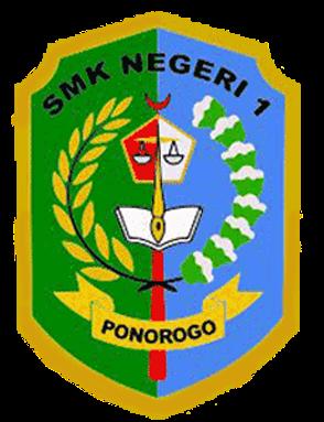 logo SMKN 1 Ponorogo png