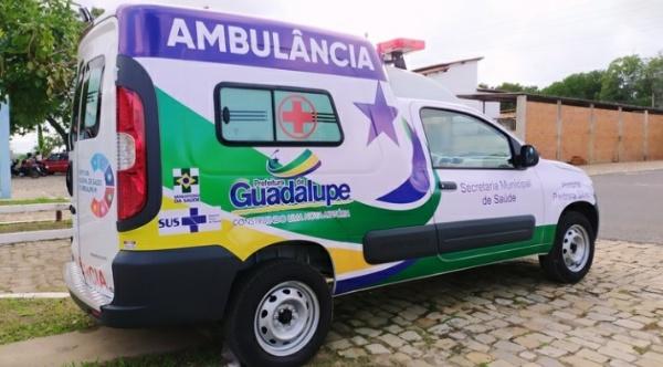 Hospital Pedrina Silveira em Guadalupe recebe nova Ambulância