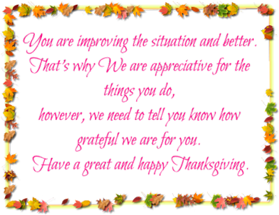 Thanksgiving SMS for Friends