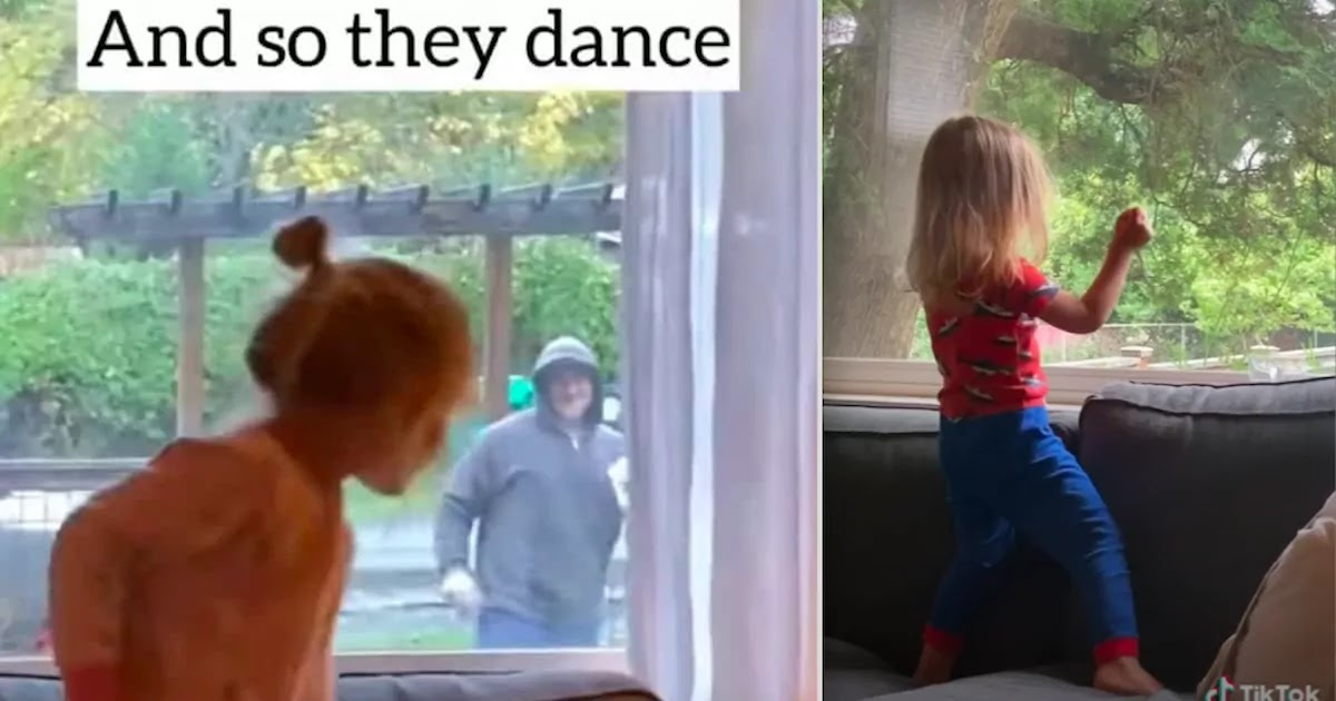 This Daily Dance-Off Between A Mailman And 3-Year-Old In Lockdown Has Warmed The Hearts Of Millions Of Viewers