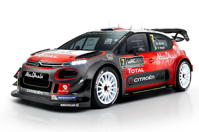 Citroën C3 WRC 2017 Front Side