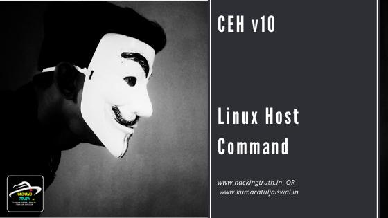 CEH v10 Linux Host Command