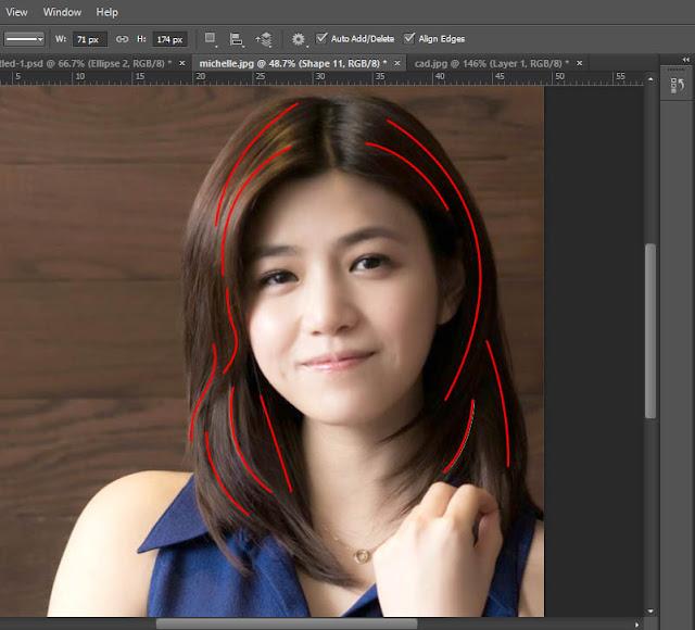 Tutorial Teknik Line Art dengan Photoshop