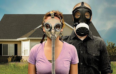 Doomsday prepper couple picture