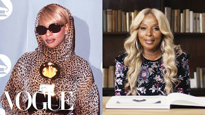 Vocal Icon Mary J. Blige  Takes Us On A Blast From The Past Rollercoaster Reminiscing On Her Best & Worst Fashion Moments!