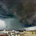 Un temporale impressionante: ecco la foto della 'shelf cloud' su Botrugno (Le)