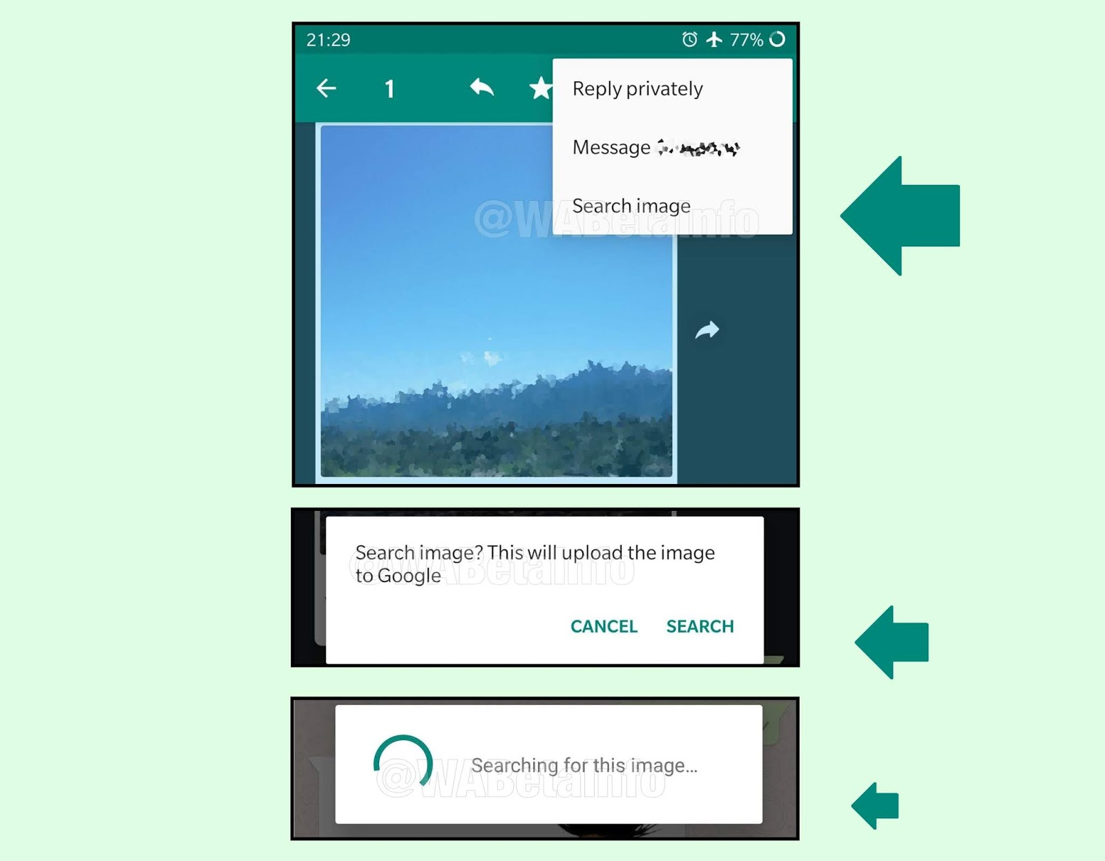WhatsApp Is testing 'Search Image' Feature, and Transgender Emoji Flag