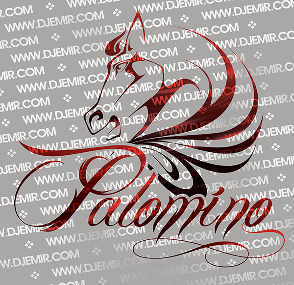 Palomino Nightclub California Logo Design