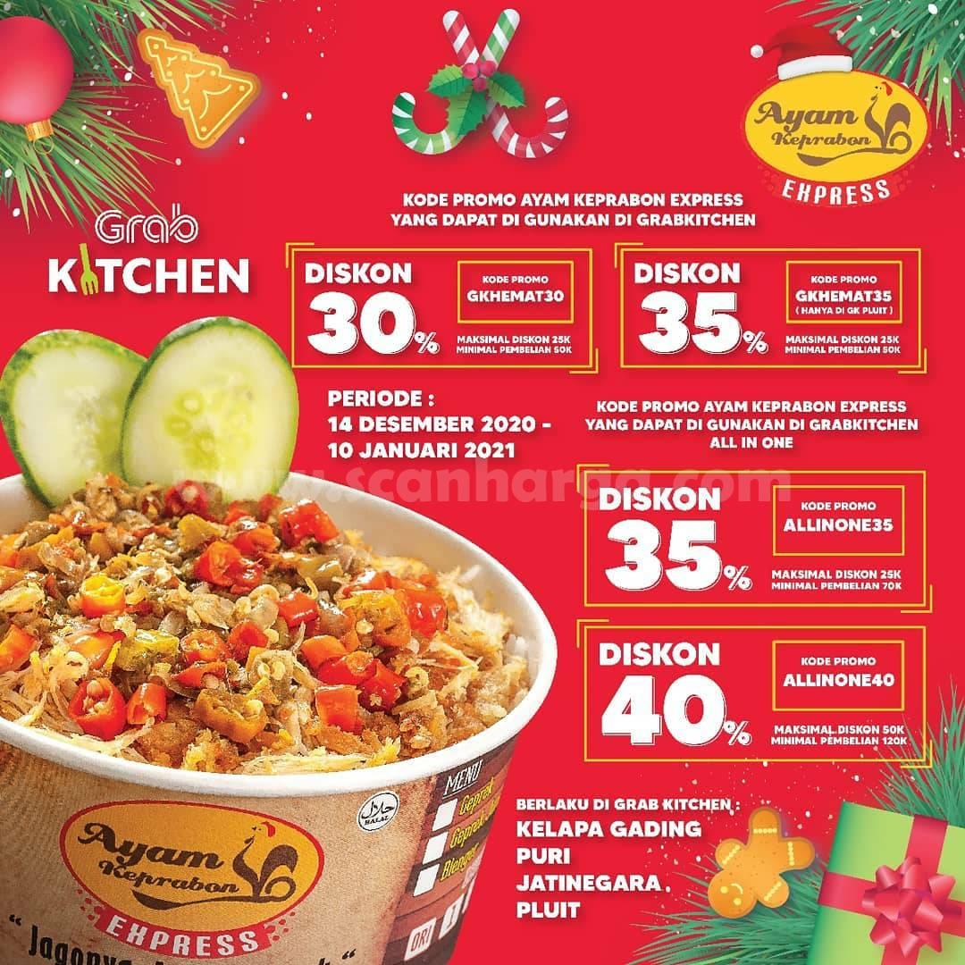 Ayam Keprabon Promo Always-On – Diskon 35% via Grabfood