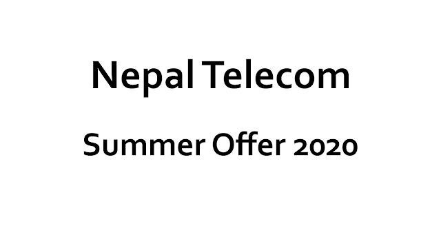NTC Summer Offer 2020 Voice Packs