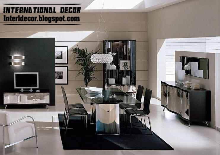 Modern luxury Italian dining room furniture ideas