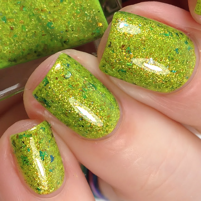 Night Owl Lacquer-Not Inclined to Resign to Maturity
