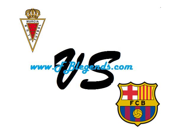 مشاهدة مباراة برشلونة وريال مورسيا بث مباشر الكأس ملك إسبانيا السعودي بتاريخ 29-11-2017 يلا شوت barcelona vs real murcia