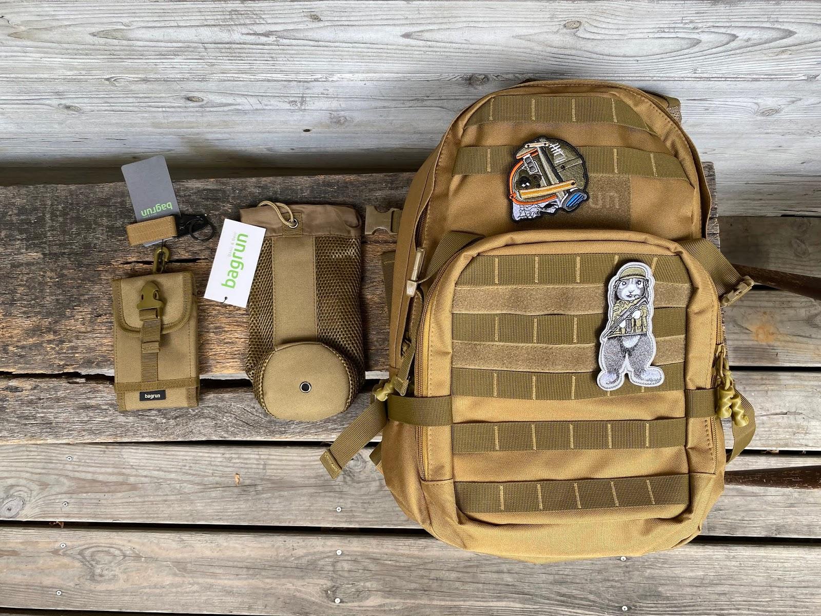 bagrun軍規機能背包