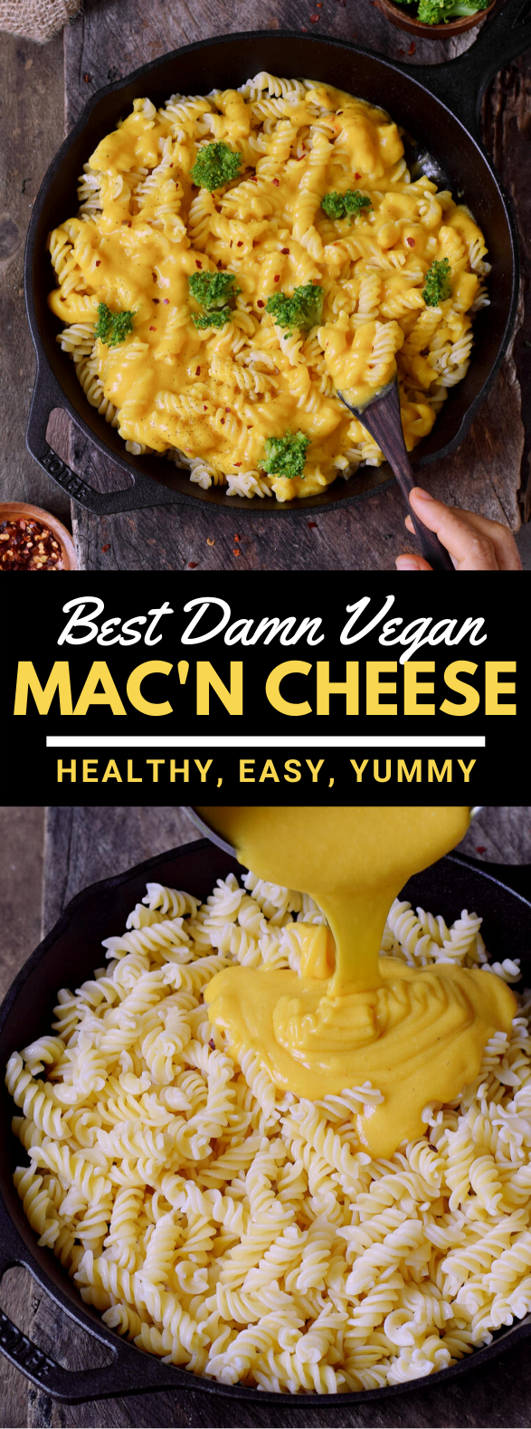 HEALTHY VEGAN MAC AND CHEESE #easyrecipes #glutenfree