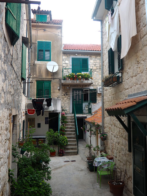 Streets in Varos, Split, Croatia