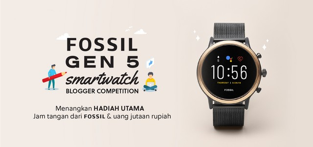 Lomba blog Fossil Watch