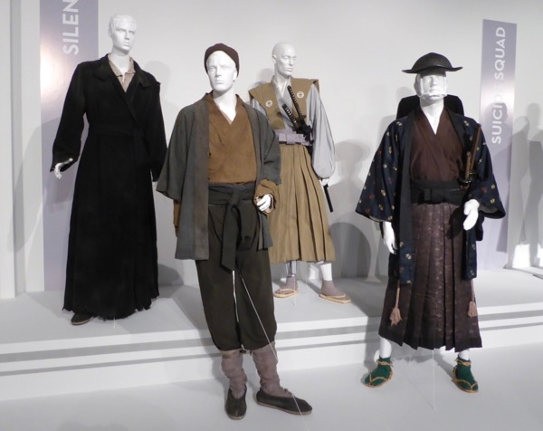Silence movie costumes on display...