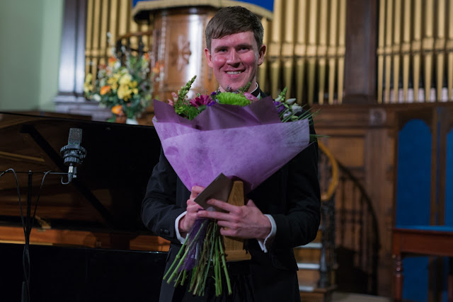 David Corr, winner of the Deborah Voigt Opera Prize, Festival of Voice 2020 (Photo Paul Moore)
