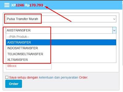 Transfer Pulsa Ke Semua Operator