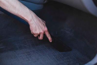 how to clean car carpet