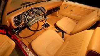 1970 Chevrolet Camaro Z28 LT-1 Interior