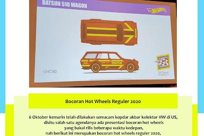 Bocoran Hot Wheels Reguler 2020