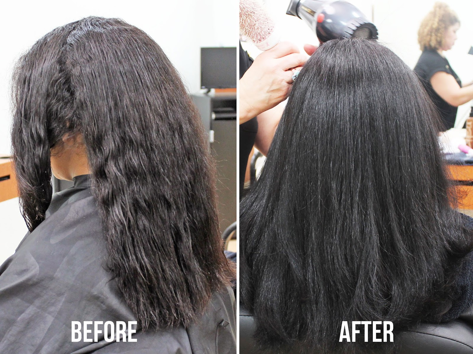 before-after-hair-gloss-redken