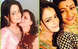 Foto Jigyasa Singh bersama Ibunya