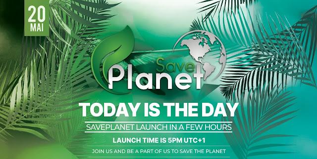 SavePlanet Crypto | Sauvez notre planète avec SavePlanet CRYPTO !