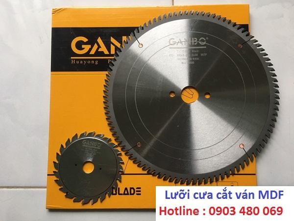 Lưỡi cưa cắt gỗ công nghiệp Ganbo 300x96T