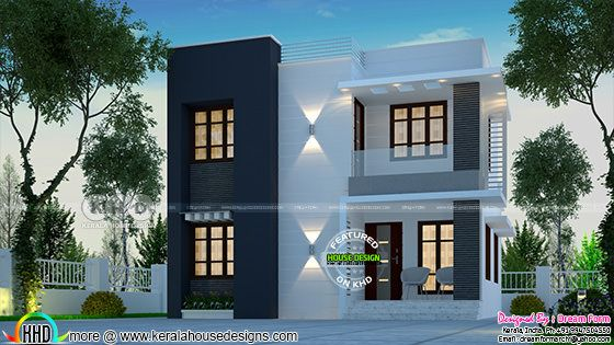 Simple 1326 square feet 3 bedroom home